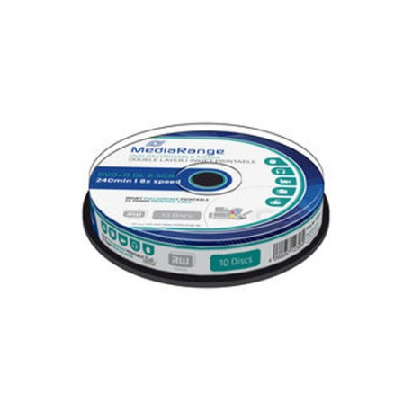 MEDIARANGE DVD+R DL 4 MR468 8.5 GB's