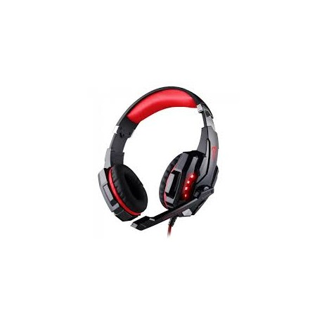 Z8TECH Keach Pro Gaming Headset H900 Auscultadores Gaming Vermelhos
