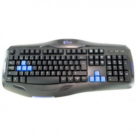 Z8TECH KB1851 Teclado Gaming Iron Plate Keyboard Iluminado